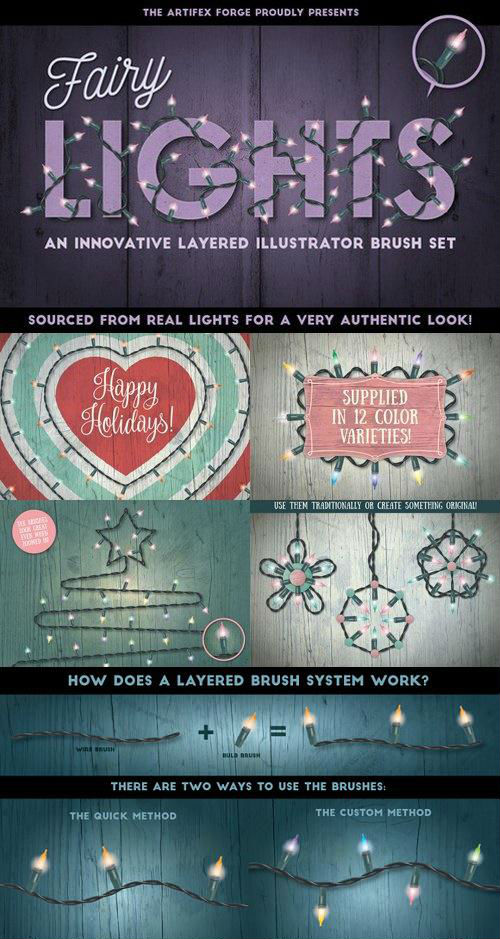 Fairy Light Brushes - 946531