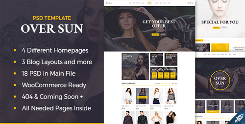 Over Sun - Multipurpose eCommerce PSD Template 15999164