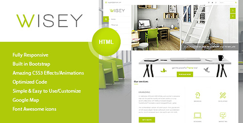 ThemeForest - Wisey - High Performance HTML5 Template (Update: 21 February 16) - 14220651