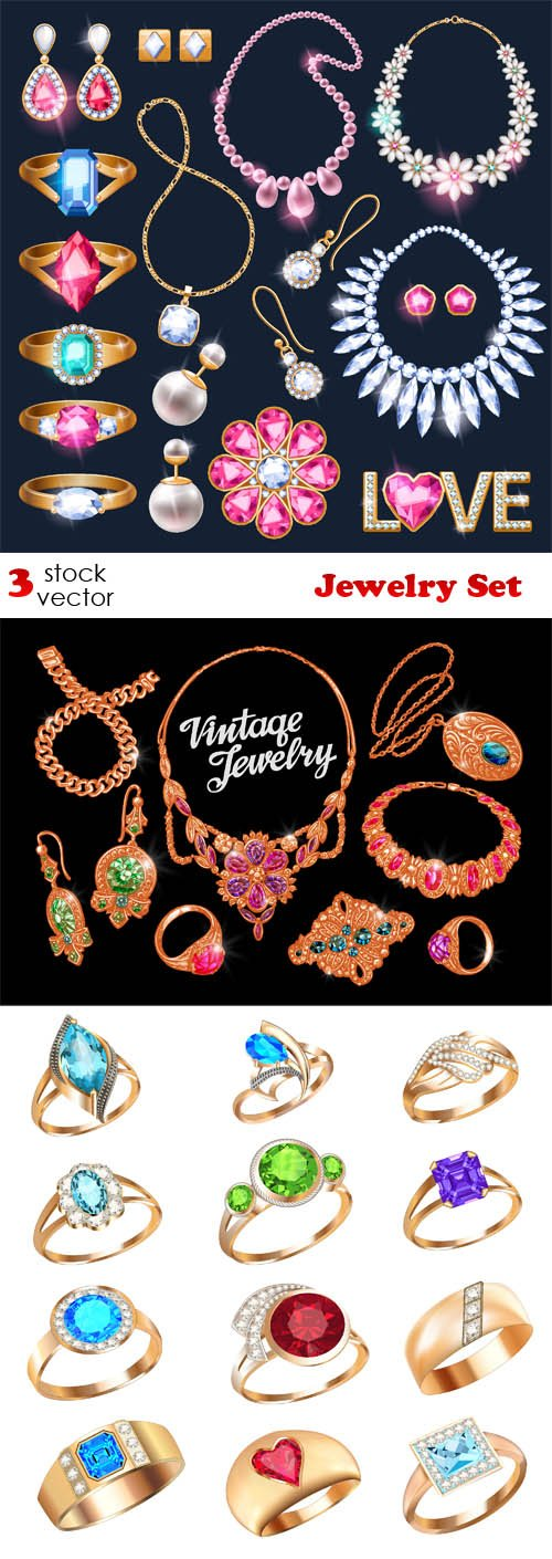 Vectors - Jewelry Set