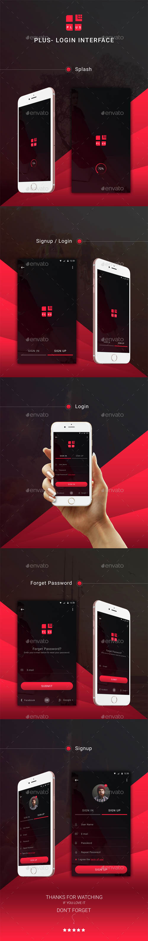 Plus - Login Interface 14890078