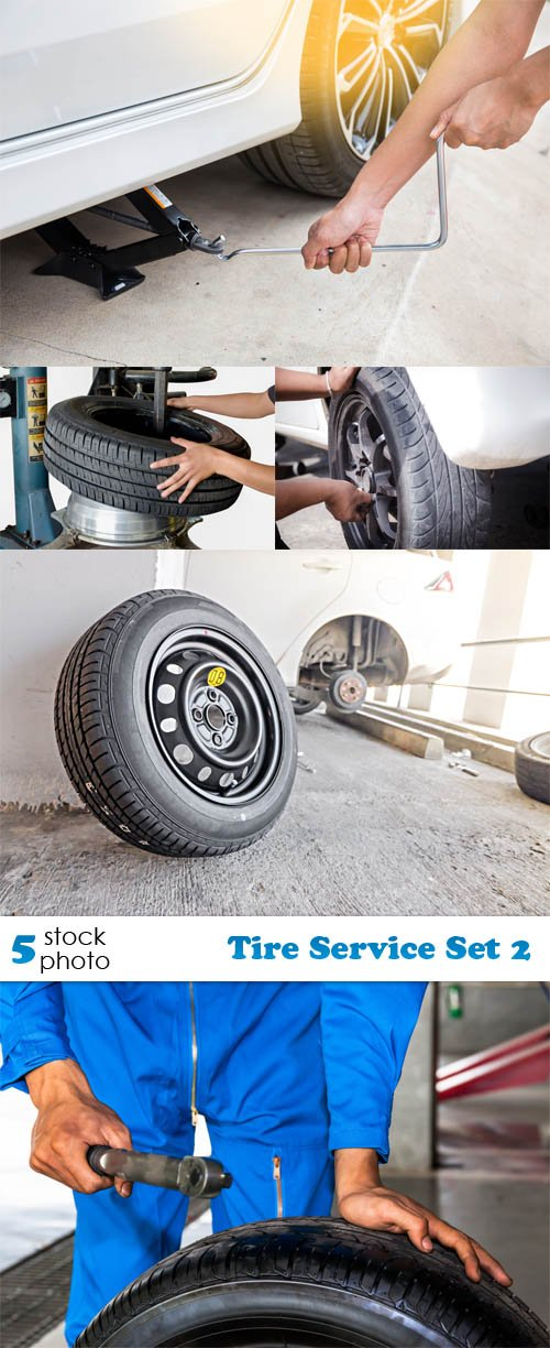 Photos - Tire Service Set 2