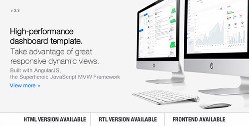 ThemeForest - Clip-Two v2.2 - Bootstrap Admin Template with AngularJS - 10290688