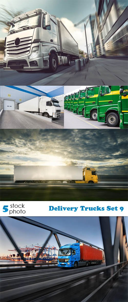 Photos - Delivery Trucks Set 9