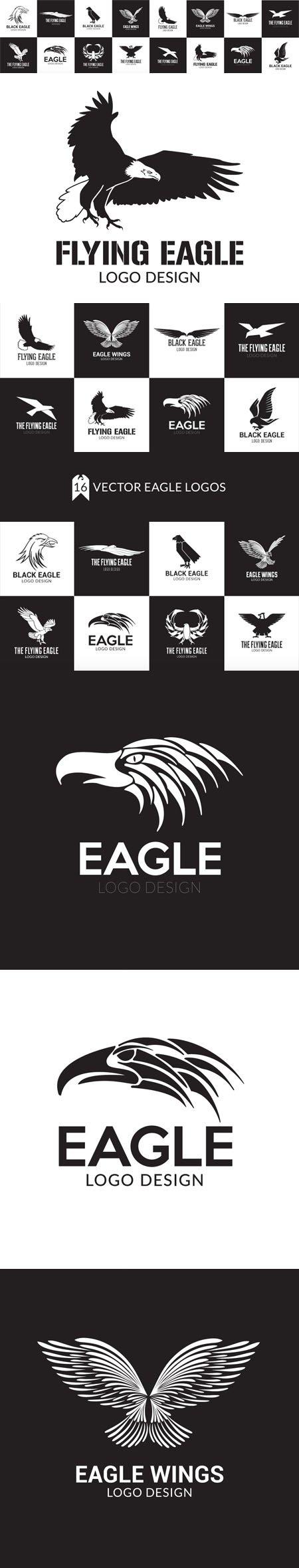 Eagle Logo Design Pack - 16 Logo