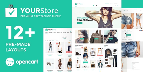ThemeForest - YourStore v2.3.0.4 - OpenCart theme - 16754918