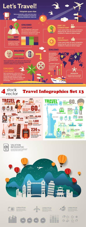 Vectors - Travel Infographics Set 13