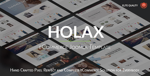 ThemeForest - Holax v1.5.0 - Multipurpose Hikashop eCommerce Template - 11566009