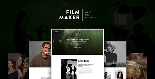 ThemeForest - FilmMaker v1.0.8 - WordPress Theme: Film Studio - Movie Production - Video Blogger - C...