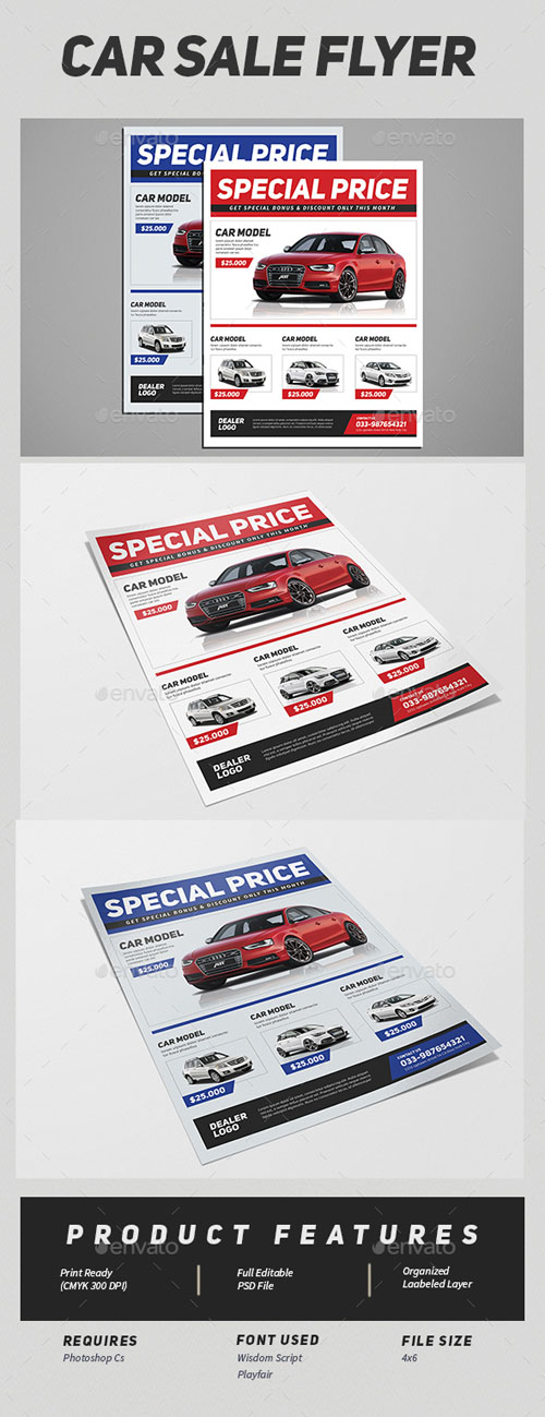 Car Sale Flyer 15682936