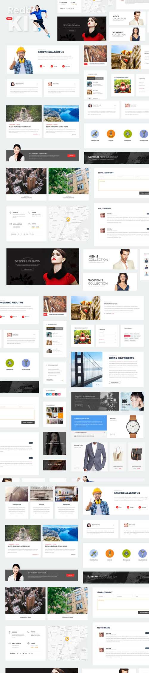 Redbee Multipurpose Web Ui Kit