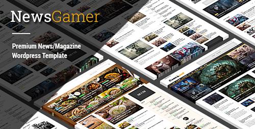 ThemeForest - NewsGamer v1.8 - WordPress News / Magazine Theme - 14521155