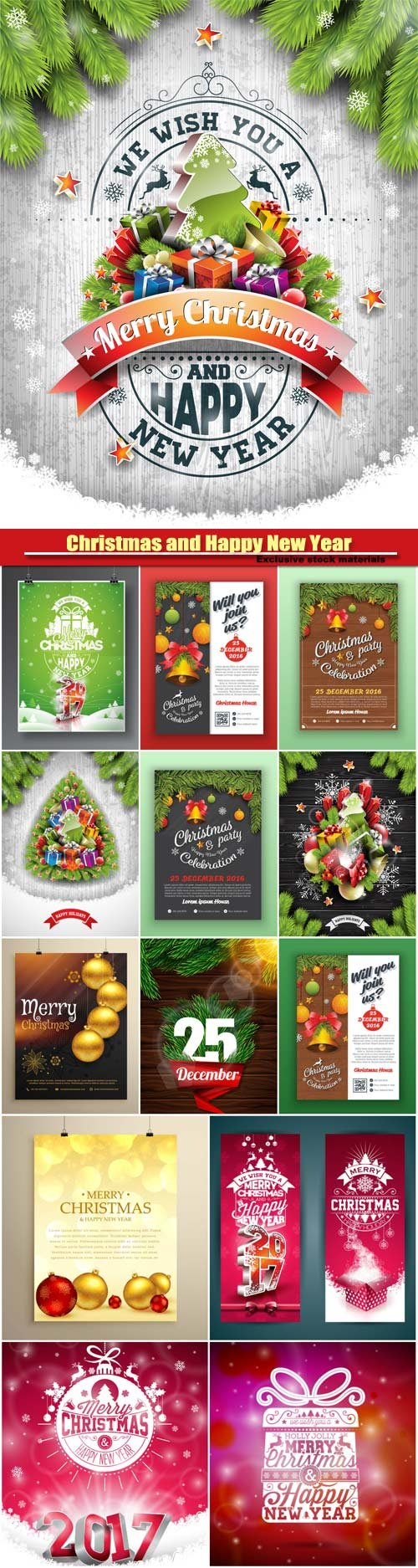christmas and happy new year party flyer template nitrogfx christmas and happy new year party flyer template