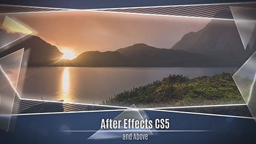 Glass and Frame Slideshow - After Effects Templates