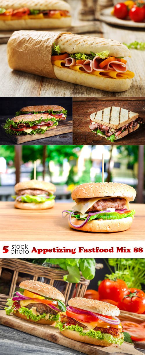 Photos - Appetizing Fastfood Mix 88