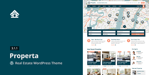 ThemeForest - Properta v3.1.1 - Real Estate WordPress Theme - 5382388
