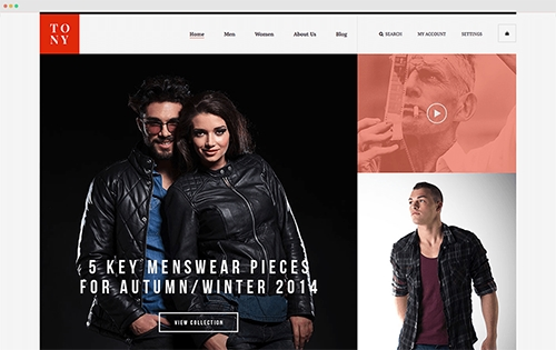 UberTheme - Tony v1.0.0 - Responsive Magento Fashion Theme