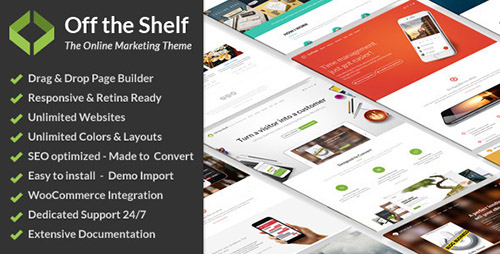 ThemeForest - Off the Shelf v1.4.5 - Online Marketing WordPress Theme - 12948332