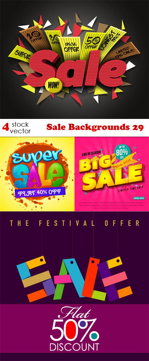 Vectors - Sale Backgrounds 29