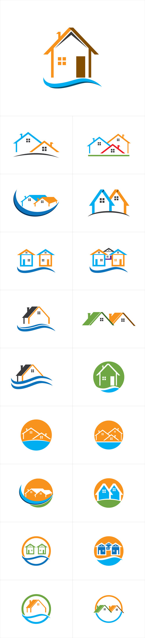 Vector Home and Building Logos