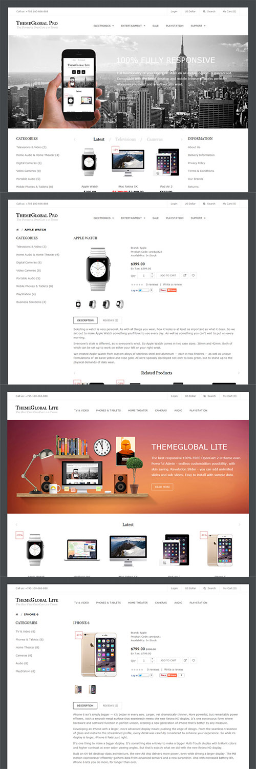 ThemeGlobal - Themeglobal v1.3 - OpenCart Template