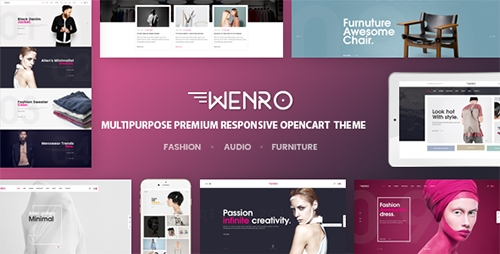 ThemeForest - Wenro v1.0 - Multipurpose Responsive Opencart Theme | 16 Homepages Fashion, Furniture, Digital and more - 18737223