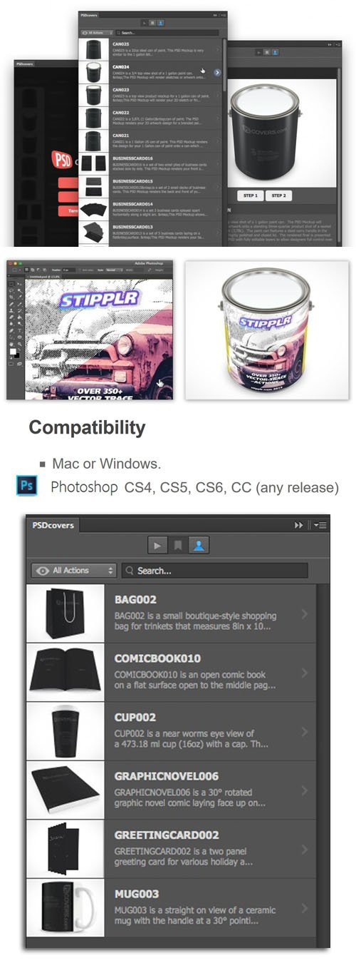 PSDCovers 1.0.30 Plug-in for Photoshop