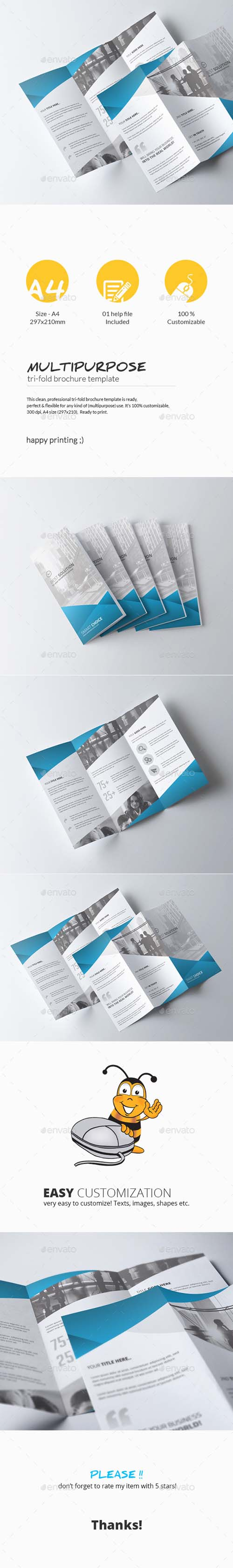 Tri-Fold Brochure - Multipurpose 11242629