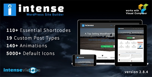 CodeCanyon - Intense v2.8.4 - Shortcodes and Site Builder for WordPress - 5600492