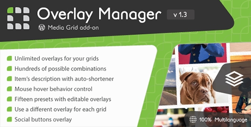 CodeCanyon - Media Grid - Overlay Manager add-on v1.3 - 6643138