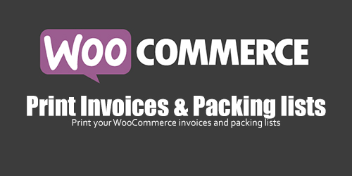 WooCommerce - Print Invoices & Packing lists v3.1.6