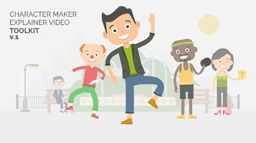 Character Maker - Explainer Video Toolkit - Project for After Effects (Videohive)
