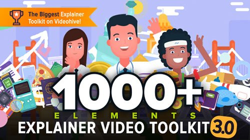 Explainer Video Toolkit 3 - Project for After Effects (Videohive)