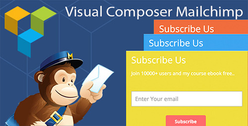 CodeCanyon - Visual Composer Mailchimp Addon v1.2.6 - 11556987