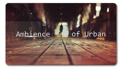 Ambience Urban | Parallax Slideshow - Project for After Effects (Videohive)