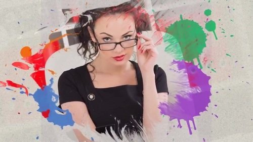 Colorful Ink Slideshow - Project ProShow Producer