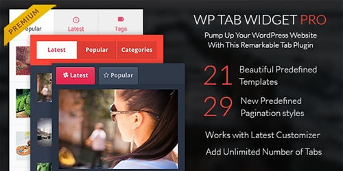 MyThemeShop - WP Tab Widget Pro v1.0.4 - WordPress Plugin