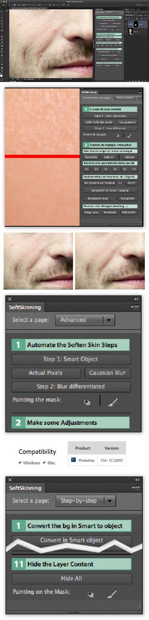 SoftSkinning 2.0.0 Plug-in for Photoshop