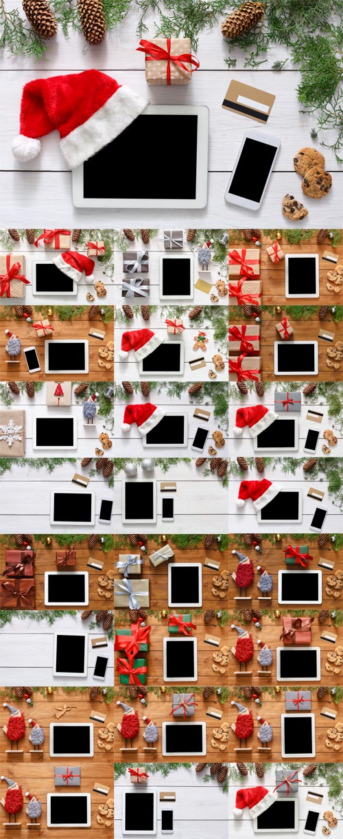 Photos Christmas Online Shopping Backgrounds
