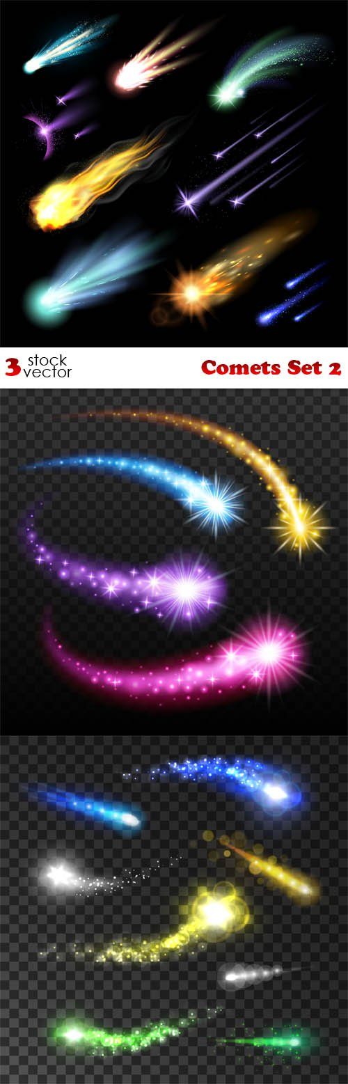 Vectors - Comets Set 2