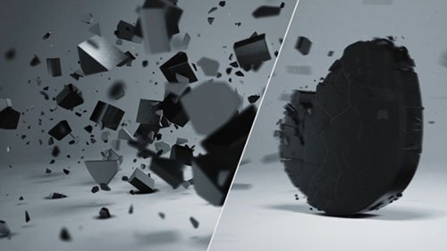 Elegant 3D Shatter Logo - Project for After Effects (Videohive)