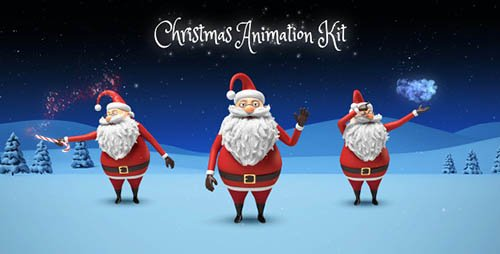 Santa - Christmas Animation DIY Kit - Project for After Effects (Videohive)