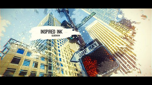 Inspired Ink Slideshow - Project for After Effects (Videohive)