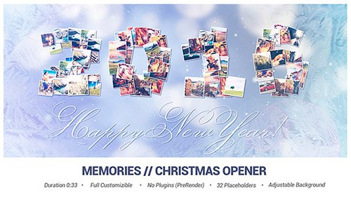 Memories // Christmas Opener - Project for After Effects (Videohive)