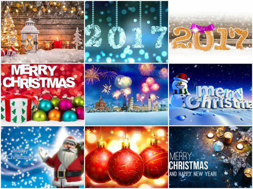 100 Beautiful Christmas HD Wallpapers Mix