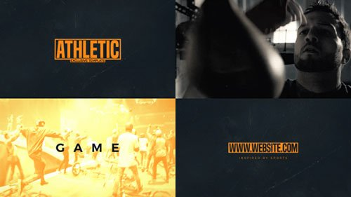 Pure Sport Template - Project for After Effects (Videohive)