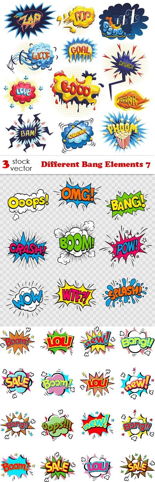 Vectors - Different Bang Elements 7