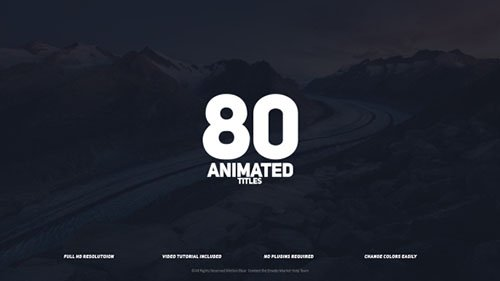 Titles 18601249 - Project for After Effects (Videohive)