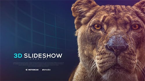 3D Slideshow Creator - Project for After Effects (Videohive)