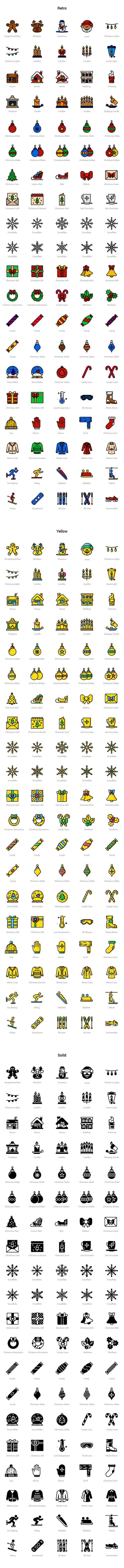 Ai, SKETCH Vector Icons - Winter 2016-2017